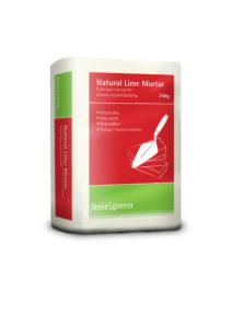 natural lime mortar bag